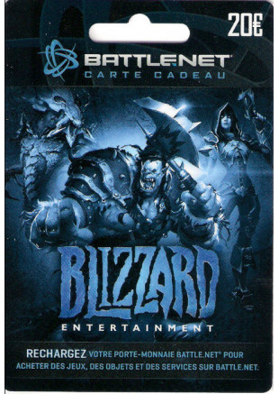 20€ Battle.net Gift Card (Email Delivery)