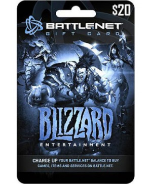$20 Battle.net Gift Card (Email Delivery)