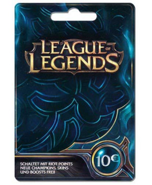 10€ League of Legends Game Card (Email Delivery)