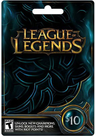 $10 League of Legends Game Card (Email Delivery)