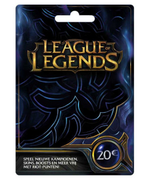 20€ League of Legends Game Card (Email Delivery)