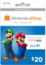 $20 Nintendo eShop Card (Email delivery)