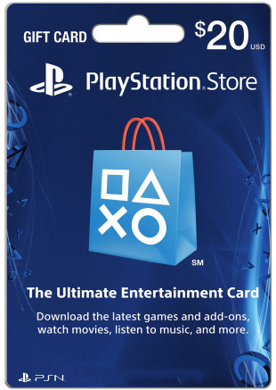 $20 USA Playstation Network Card (Email Delivery)
