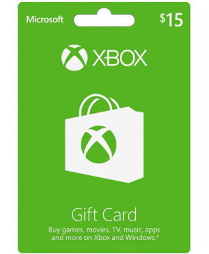 $15 Xbox Live Gift Card (Email Delivery)
