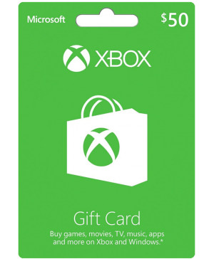 $50 Xbox Live Gift Card (Email Delivery)
