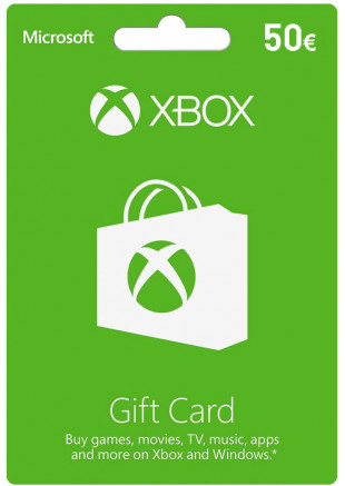 50€ Xbox Live Gift Card (Email Delivery)